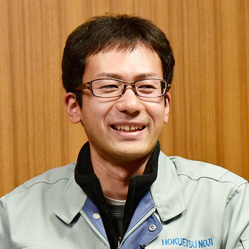グリーンファーム北越株式会社取締役:加藤 輝