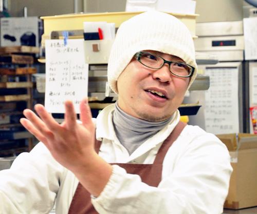 専務取締役:村山哲志
