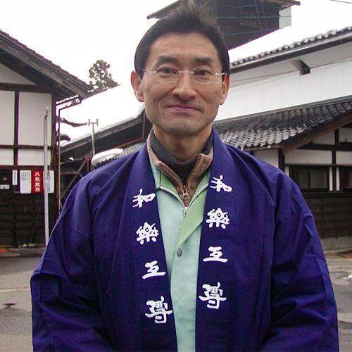 代表 兼 杜氏:池浦隆太郎