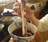 九州朝日放送で市川屋の伸びる餅が紹介されました