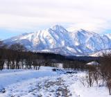 冬の妙高山⛄