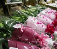 母の日には お花を~