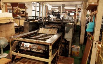 初代社長自らがつくった機械で今も製造を行う