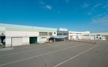 南魚沼市にある精米工場