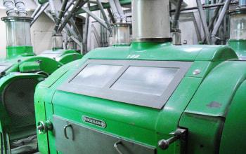 自動制御で小麦粉を製造
