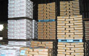 包装された小麦粉