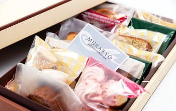 焼き菓子にも一つ一つにこだわりあり。贈答に最適な詰め合わせ。