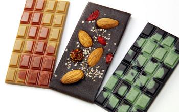 3種類の板チョコ
