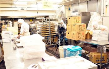 本社工場内2。こちらで商品が作られています