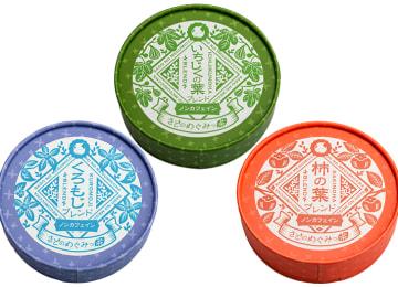 商品イメージ:紙缶(リーフ入り)