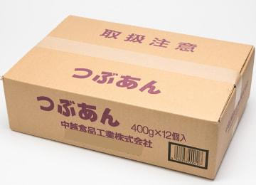 梱包イメージ(つぶあん 12パック入り)
