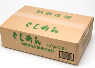 梱包イメージ(こしあん 12パック入り)
