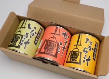 加茂市特産 選べるかも汁シリーズ – (有)加茂特産品センター