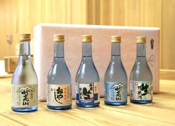 妙高山飲み比べ5本セット – 妙高酒造