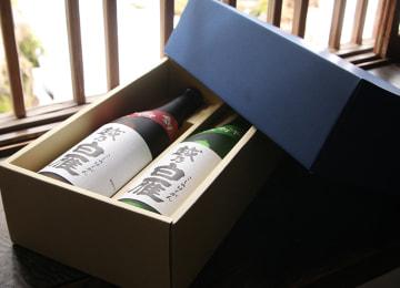 越乃白雁 日本酒ビギナーセット(吟醸・純米吟醸) – 中川酒造