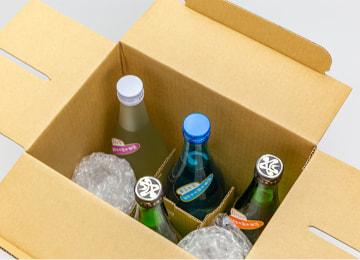 梱包イメージ(たっぷり飲み比べセット 720mlボトル瓶)