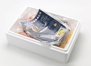 調理方法・おすすめの具材を記載したリーフレットを同梱