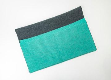 商品イメージ(折り返しポケット グリーン)