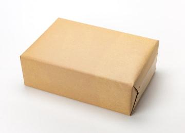 梱包イメージ(外包装:クラフト紙)