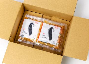 簡易包装入の梱包イメージ(外箱を開いた状態)