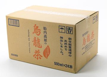 梱包イメージ(烏龍茶 500mlボトル 24本入り)
