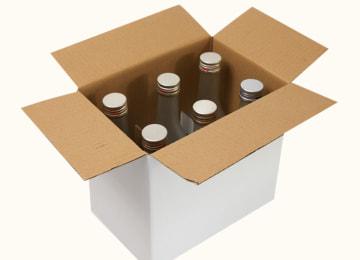 『造り酒屋の麹甘酒(瓶)』梱包イメージ