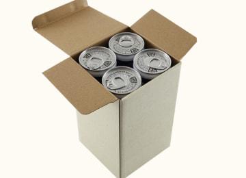 『造り酒屋の麹甘酒(缶)』梱包イメージ