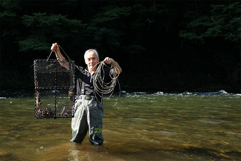 モクズガニ専門店 貝沼