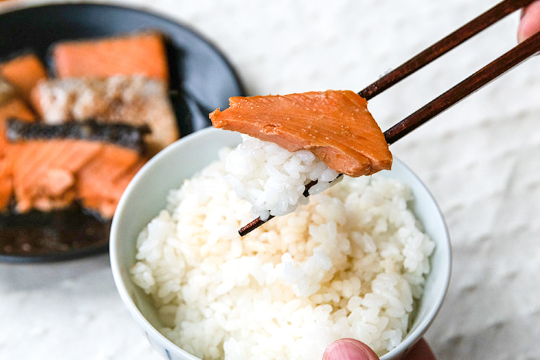 焼漬け3種詰め合わせ(銀鮭・サバ・ホタテ) – 新潟中央水産市場株式会社