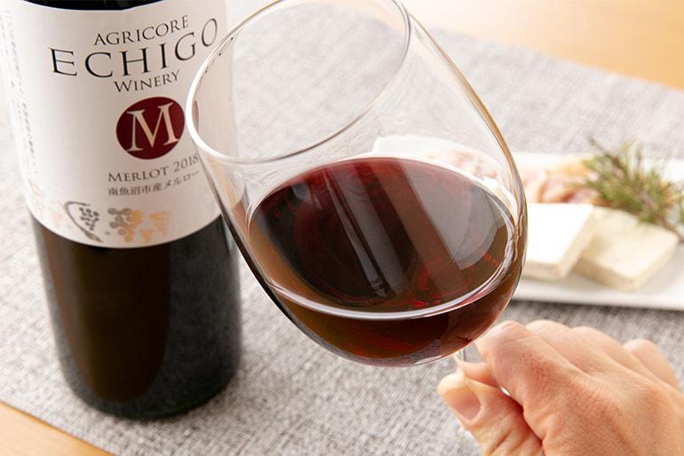 越後ワイン メルロー・カベルネ ソーヴィニヨン・シャルドネ – アグリコア – 越後ワイナリー