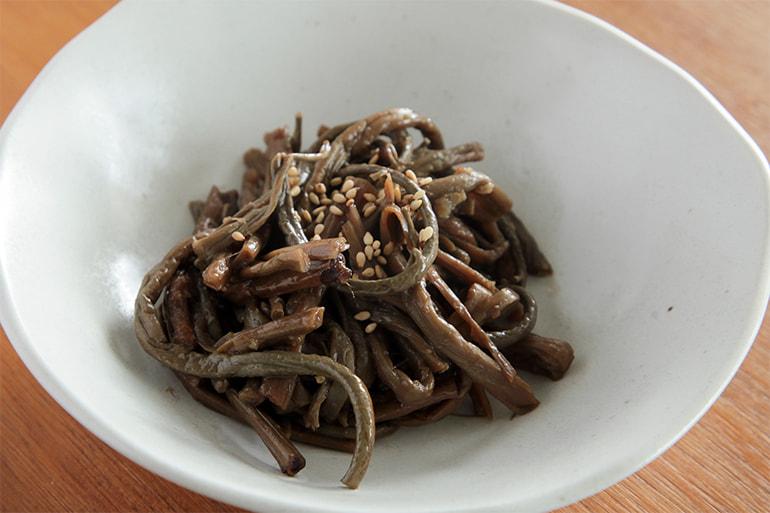新潟産 乾燥ゼンマイ – いろむすび山菜屋