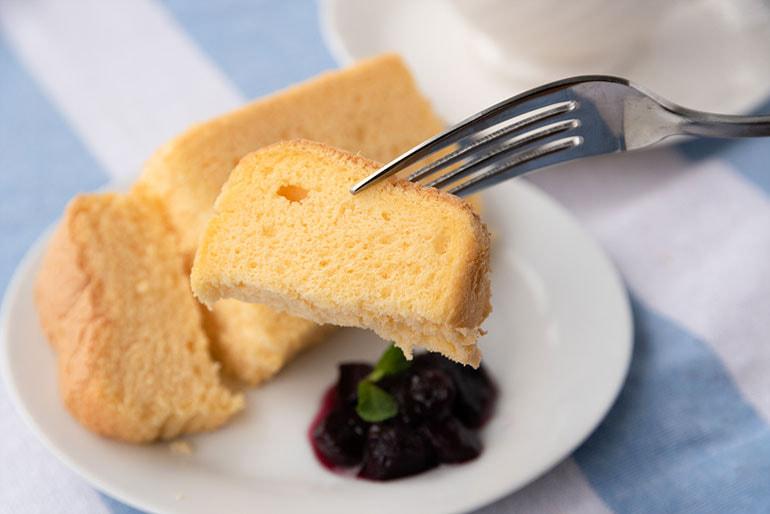 米粉のシフォンケーキ – こだわり農家 孫作