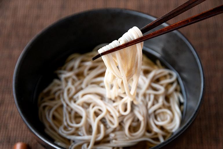 妙高十割生蕎麦(生麺) – 嶺村製麺所