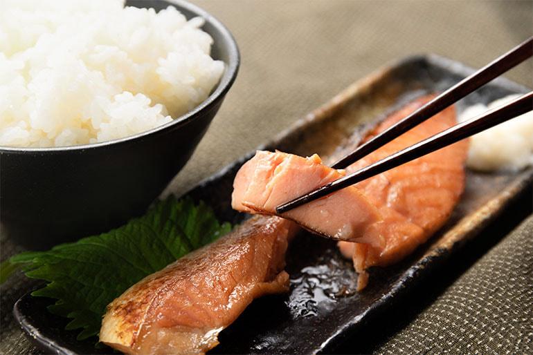鮭の切り身ギフト – 長岡青善