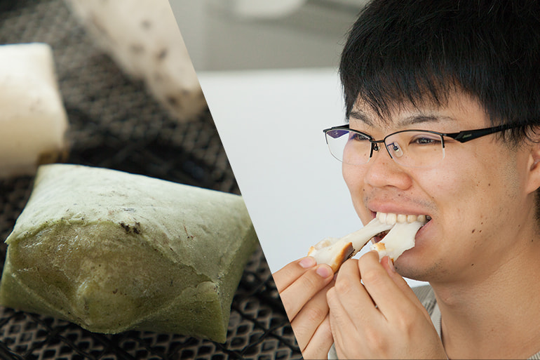 阿賀の白雪餅 – 濁川生産組合