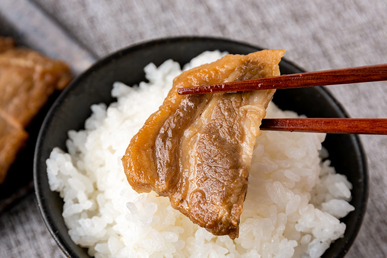 お肉の焼漬け – 新潟小川屋