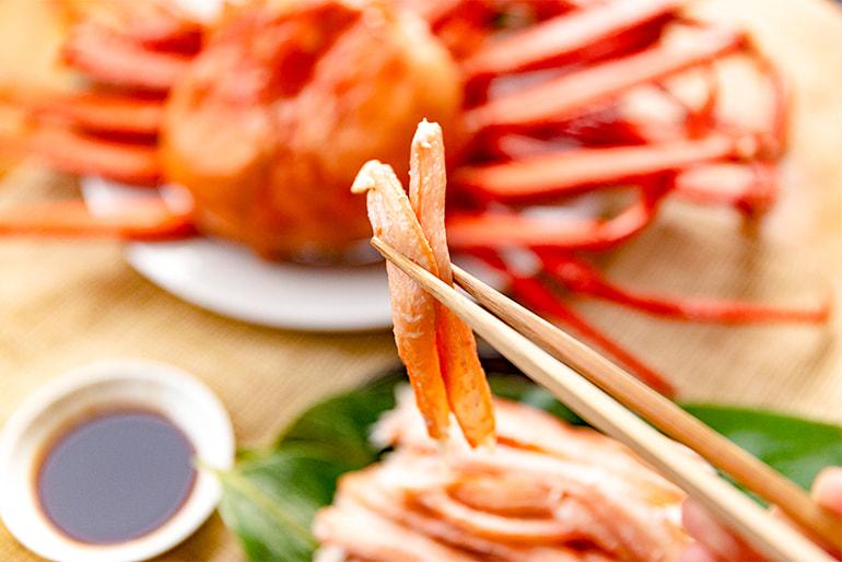日本海産 冷凍紅ズワイガニ(むき身) – 盛紋丸