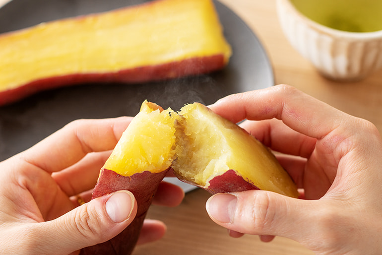 冷凍焼き芋(紅はるか・ハロウィンスイート・パープルスイートロード) – 餞心亭おゝ乃