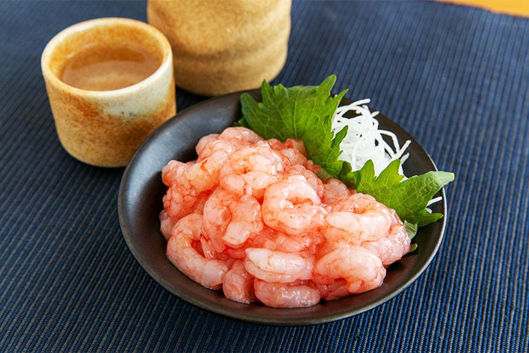 糸魚川産 南蛮エビ むき身(生食用) – 上越漁業協同組合