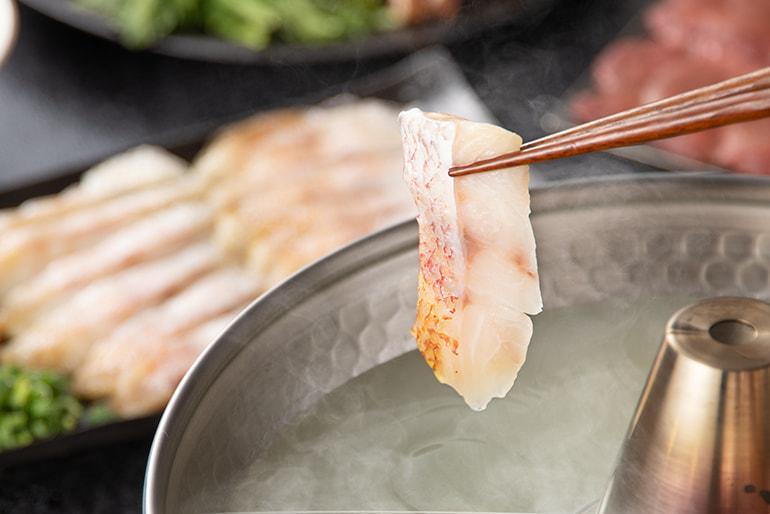 極DINING若旦那のしゃぶしゃぶセット – 旬魚旬菜 極DINING若旦那
