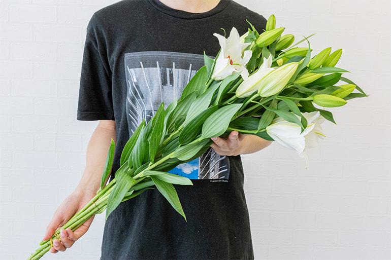 ユリ・カラー・アイリス(切り花) – フラワーファームしろね