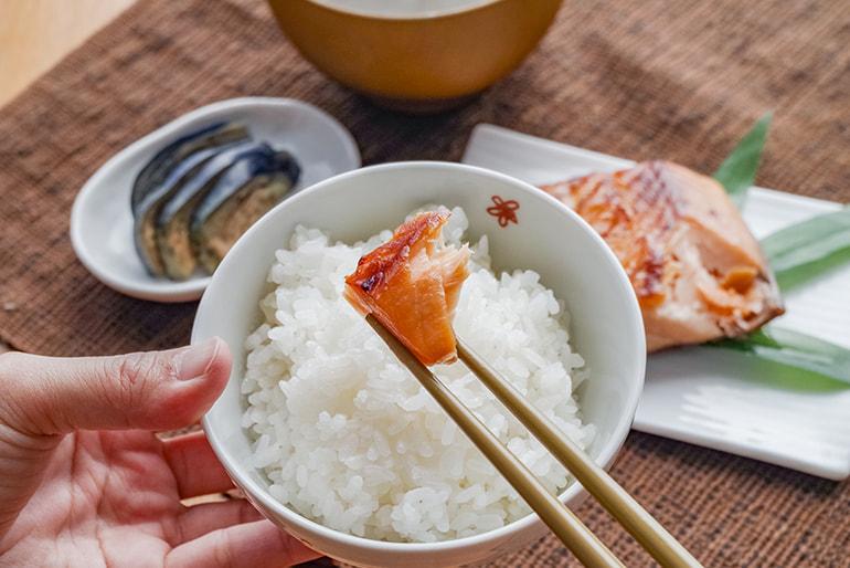 割烹の味 鮭の味噌漬 – 割烹ふじ田