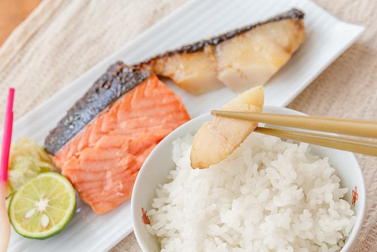 割烹太田家名物 鮭と銀だらの味噌漬け – 割烹太田家