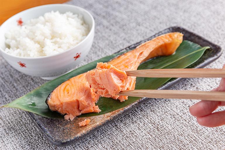 本造り銀鮭の詰め合わせ – 海産物ねだち