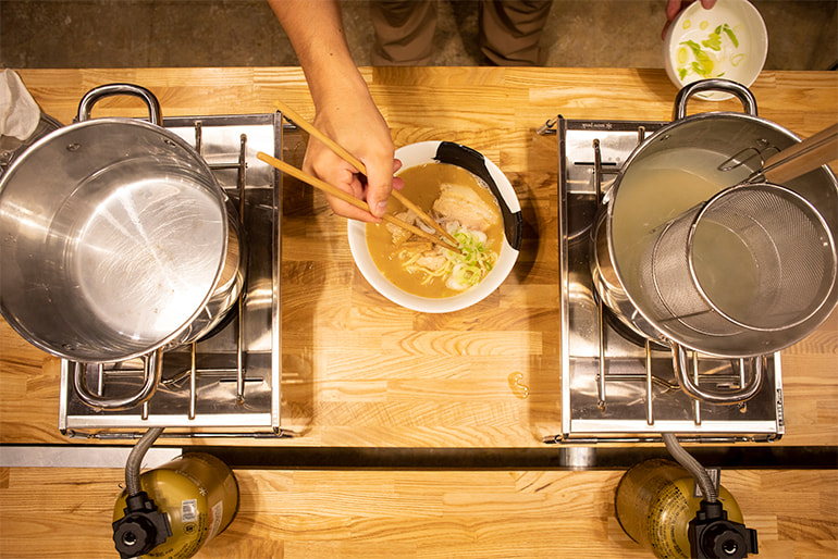 「らーめん八の家ラー」濃厚煮干し中華 – らーめん八 家ラー専門店