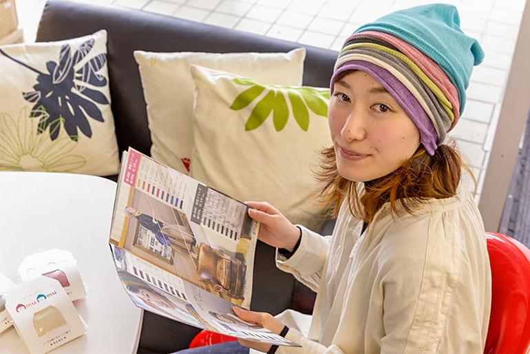 こころを軽くする「amuamu」のニット帽子- amuamu(あむあむ)