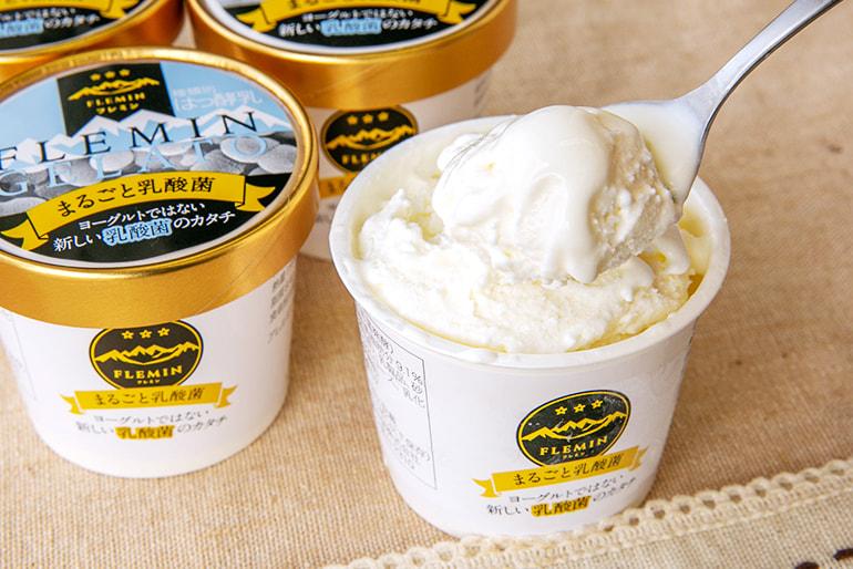 まるごと乳酸菌アイスクリーム – フレミン魚沼産直便
