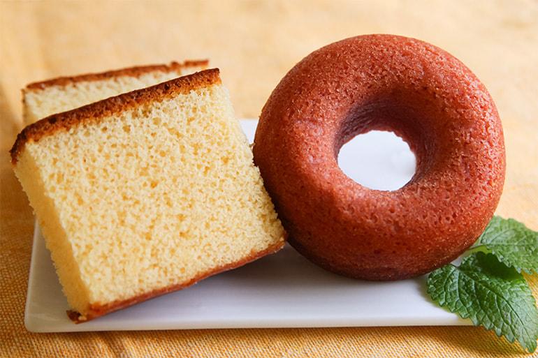 新潟県産カステラ・焼きドーナツ詰め合わせ – しばうま本舗