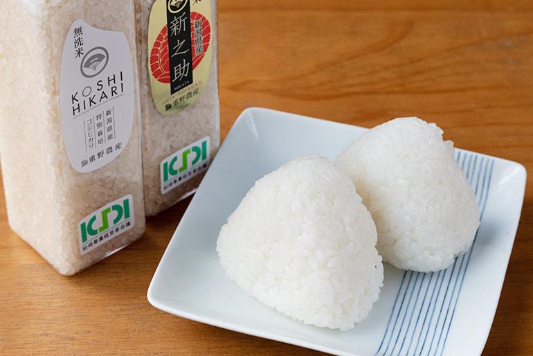 30年度米 新潟県産コシヒカリ・新之助 食べ比べセット – 重野農産