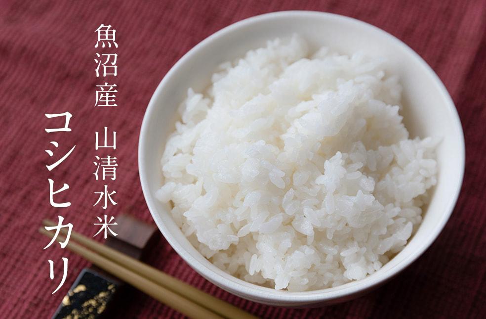 令和元年度米 魚沼産 棚田栽培 山清水米コシヒカリ(特別栽培米・従来品種)